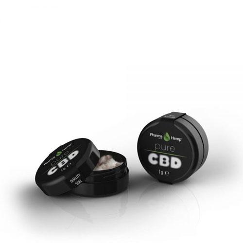 CBD krystal 99,6% 0,5g Pharma Hemp