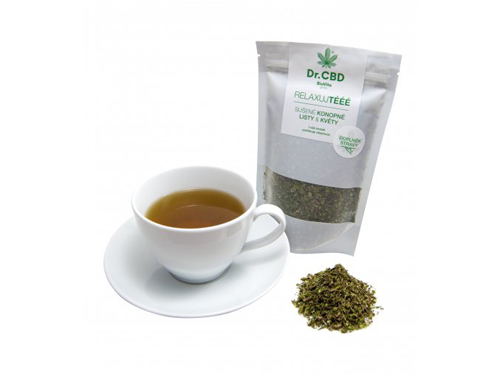 BioVita Konopný čaj Relaxujtééé 25g