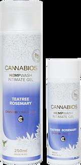 CANNABIOS intimní mycí gel s CBD 250ml