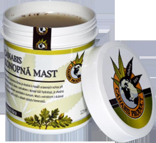 Canabis Product konopná mast s dubovou kůrou 60 ml