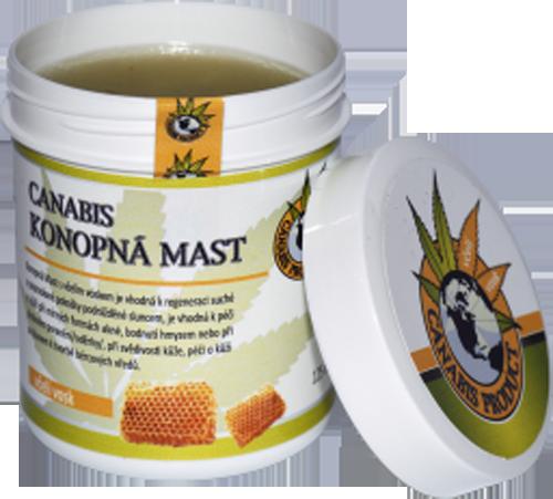Canabis Product konopná mast s včelím voskem 60 ml