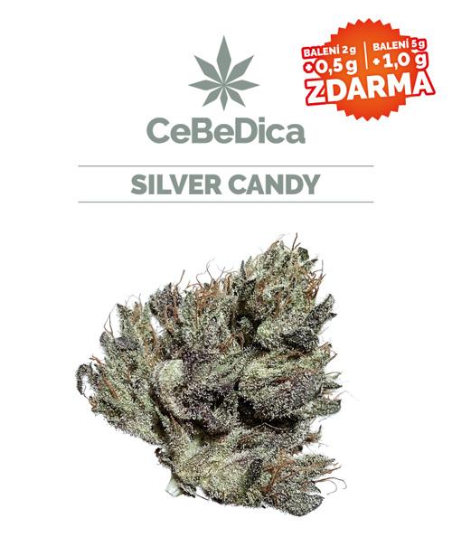 CBD květy Silver Candy 5g CeBeDica