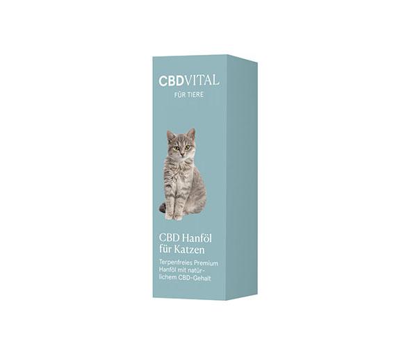 CBD konopný olej pro kočky 2,1% 20ml CBD Vital