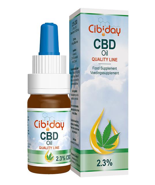 CBD olej Original Quality Line 2,3% 10ml Cibiday