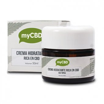 myCBD CBD krém 125mg 50ml (Prodej ukončen)