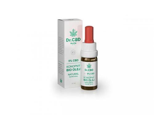 BioVita 5% CBD konopný olej 10ml