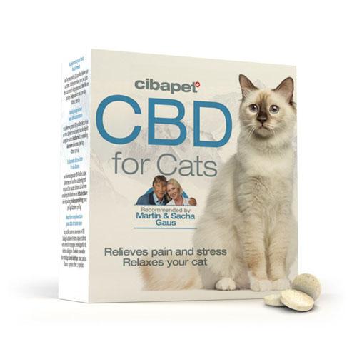CBD pastilky pro kočky 130mg 100ks Cibapet