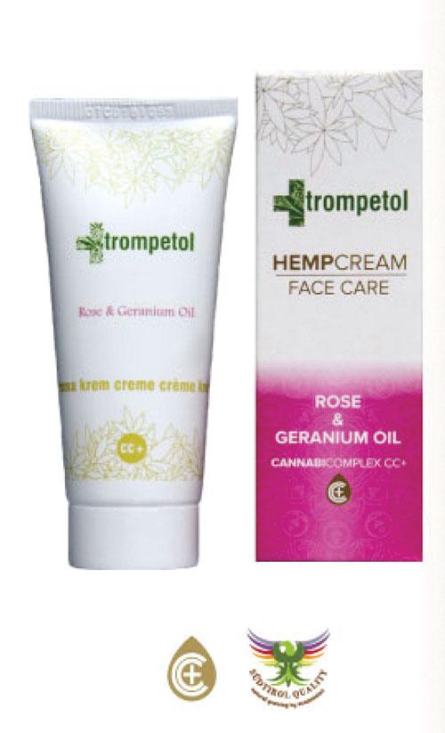 Trompetol krém Rose & Geranium Oil s CBD 40ml