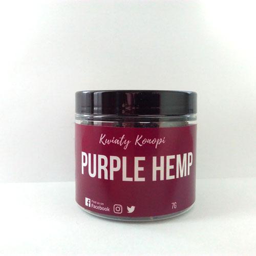 Hemp Purple květy 7g Hemp Yourself (Dostupnost 14 dní)