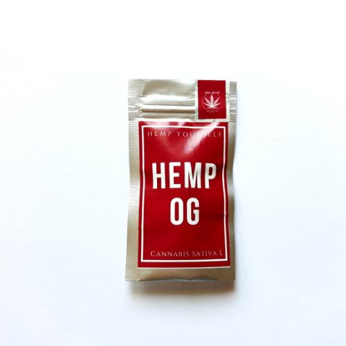 Hemp OG květy 1g Hemp Yourself (Dostupnost 14 dní)
