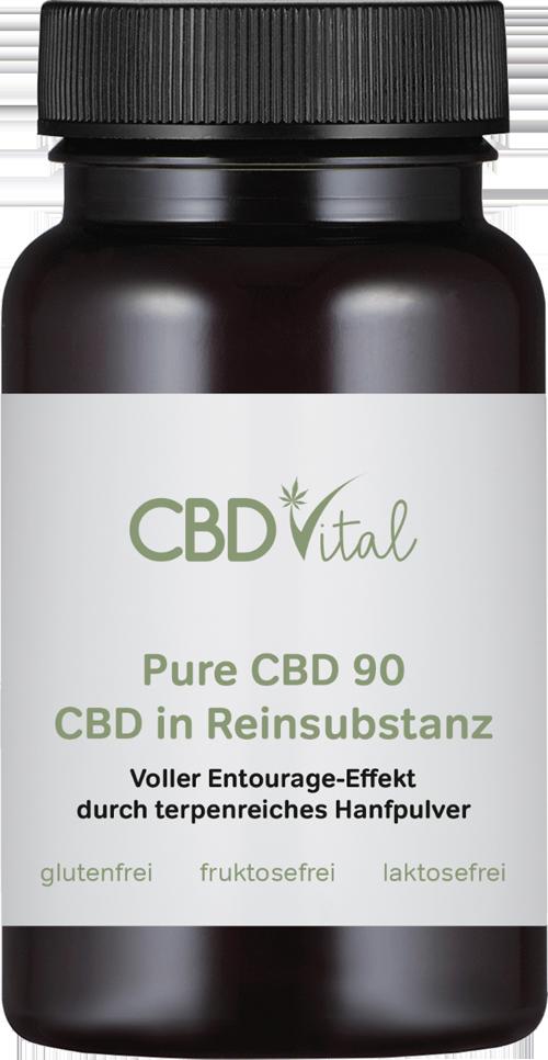 PURE CBD kapsle 2700mg 60ks CBD Vital (90 mg krystalického kanabidiolu na kapsli)