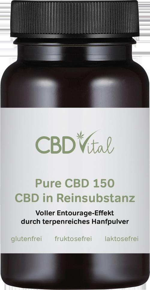 PURE CBD kapsle 4500mg 60ks CBD Vital (150 mg krystalického kanabidiolu na kapsli)