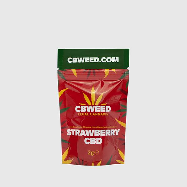 CBD Strawberry 02 2g CBWEED