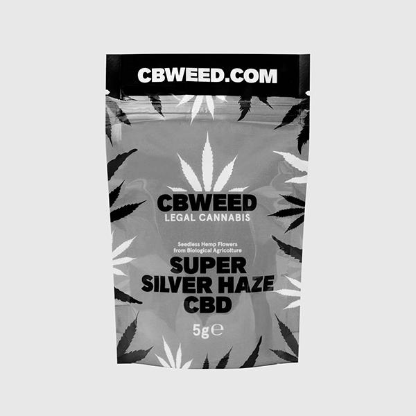CBD Super Silver Haze 5g CBWEED