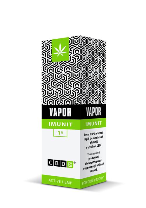 CBDex CBD Vapor Imunit 1% 10ml
