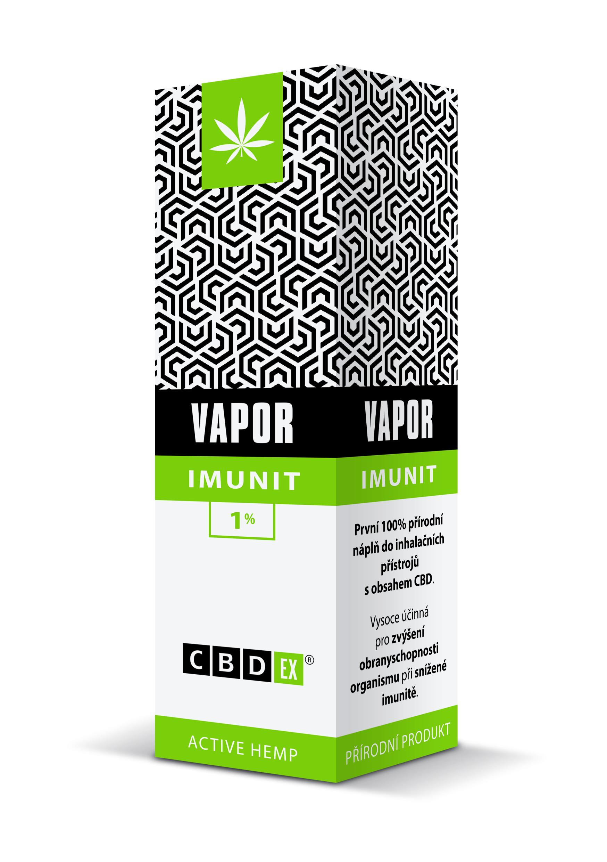 CBDex CBD Vapor Imunit 1% 20ml