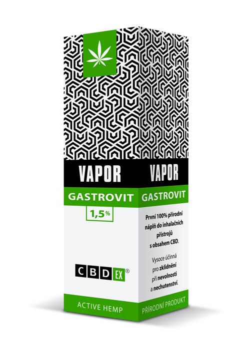 CBDex CBD Vapor Gastrovit 1,5% 20ml