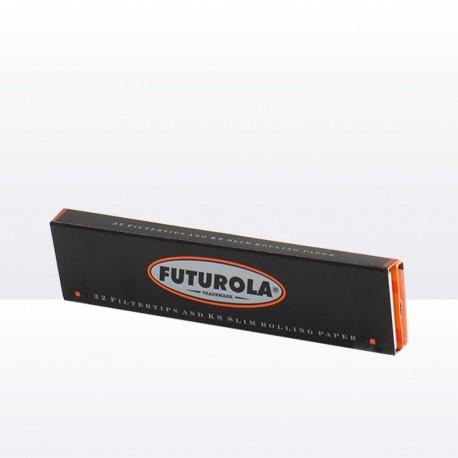 Cigaretové papírky orange + cigaretové filtry 32ks Futurola