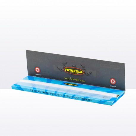 Cigaretové papírky blue king size slim Futurola