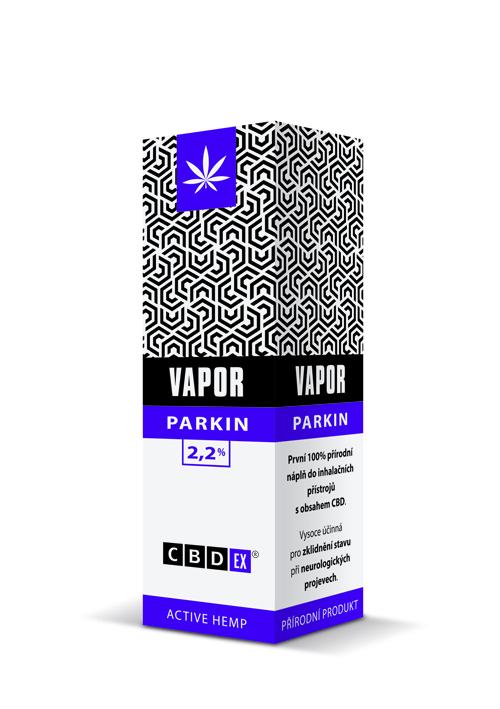 CBDex CBD Vapor Parkin 2,2% 10ml