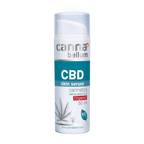 Cannabellum CBD pleťové sérum 50ml (ZDARMA: CBD čistíci krém na ruce 50ml Cannabellum - 1ks)