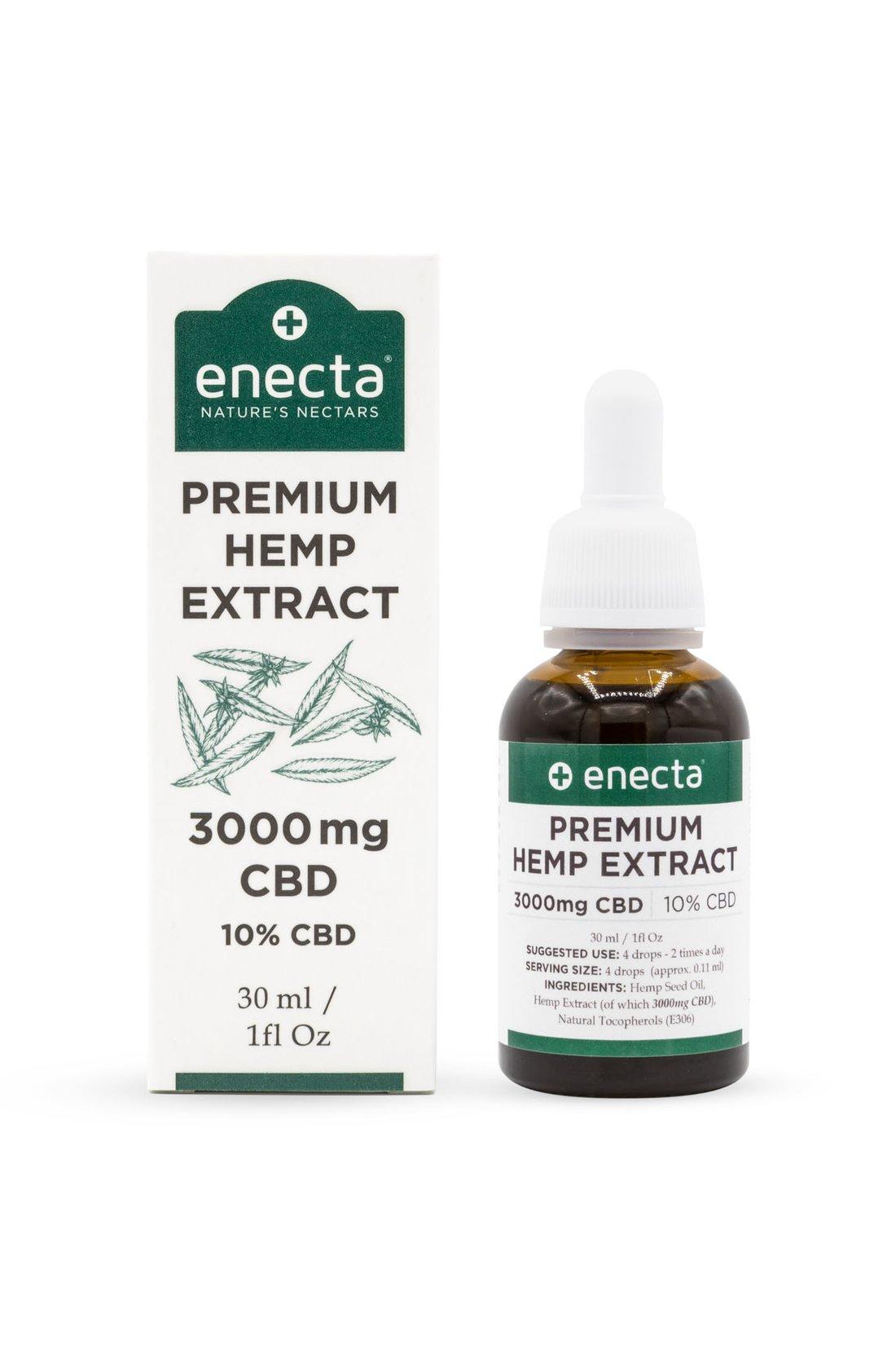 CBD olej 10% 3000mg 30ml ENECTA