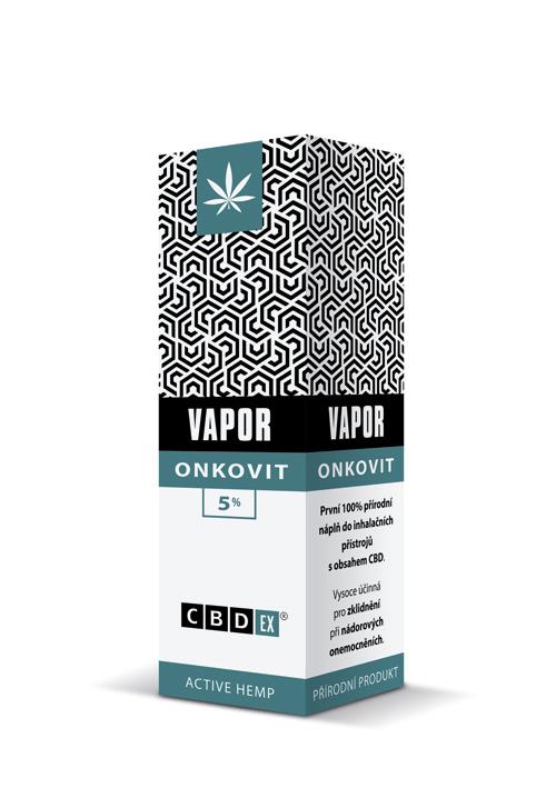 CBDex CBD Vapor Onkovit 5% 10ml