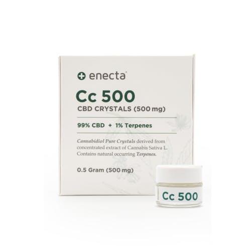 CBD krystaly 99% 0,5g ENECTA