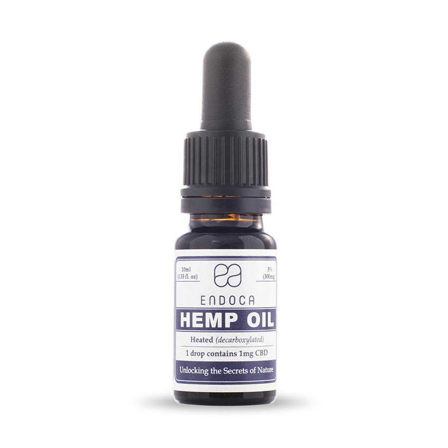 CBD olej konopny 3% 300mg 10ml ENDOCA