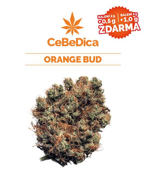 CBD květy Orange Bud 2g CeBeDica