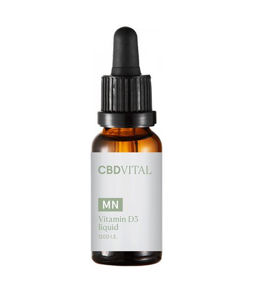 Vitamin D3 1200 liquid 20ml CBD Vital