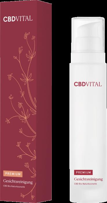 CBD BIO přírodní kosmetika na čištění obličeje 100ml CBD Vital