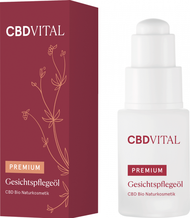 CBD BIO přírodní kosmetika péče o obličej 20ml CBD Vital
