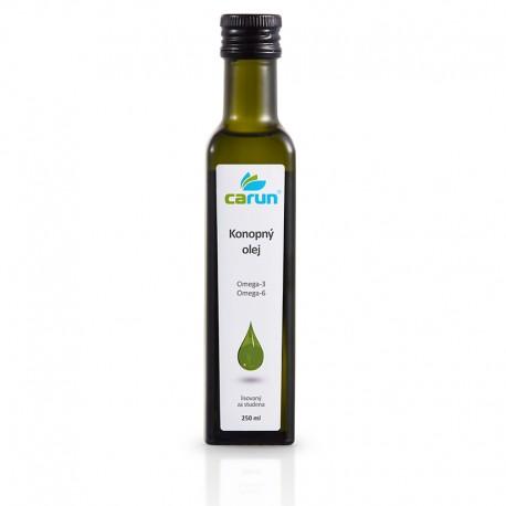 Carun Konopný olej 250 ml