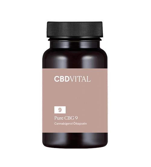 CBG PURE kapsle 9 (5%) 60ks CBD Vital