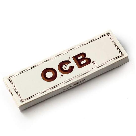 Cigaretové papírky OCB WHITE NO.1