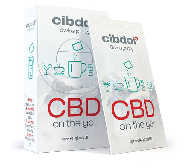 CBD On The Go!  10 x 20mg Cibdol