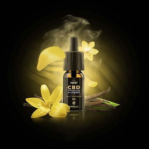 Eighty8 CBD Vanilla e-liquid 1% 10ml