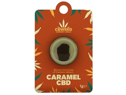 CBD Hašiš Caramel 1g CBWEED