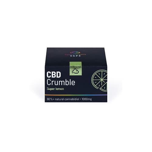 CBD Crumble lemon 90% 1g 1000mg Spectrum Vape