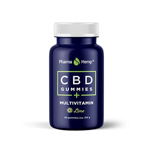 CBD Gummies Multivitamin 600mg 60ks Pharma Hemp