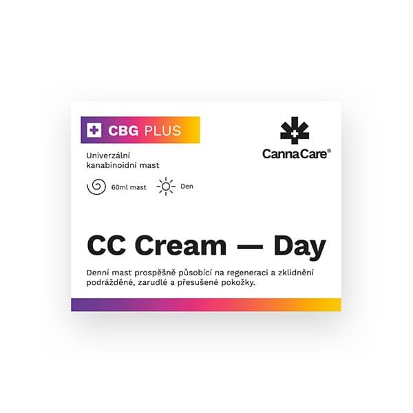 Denní konopná mast CC Cream s CBG 60ml CannaCare