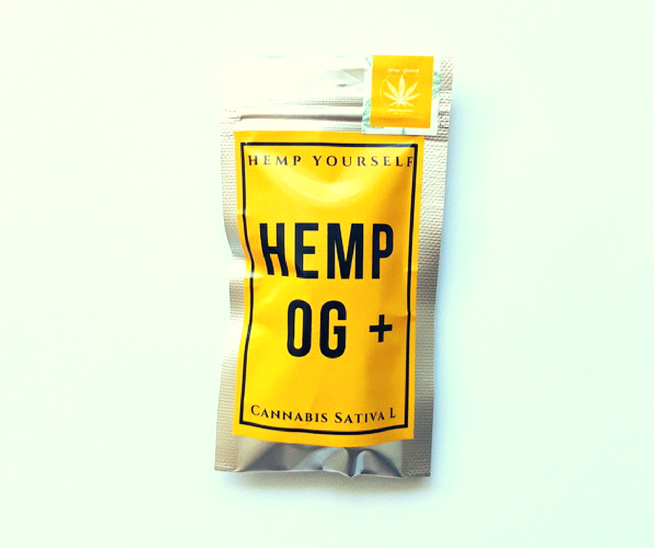 CBD Hemp OG plus květy 1g Hemp Yourself