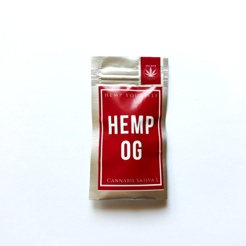 CBD Hemp OG květy 1g Hemp Yourself