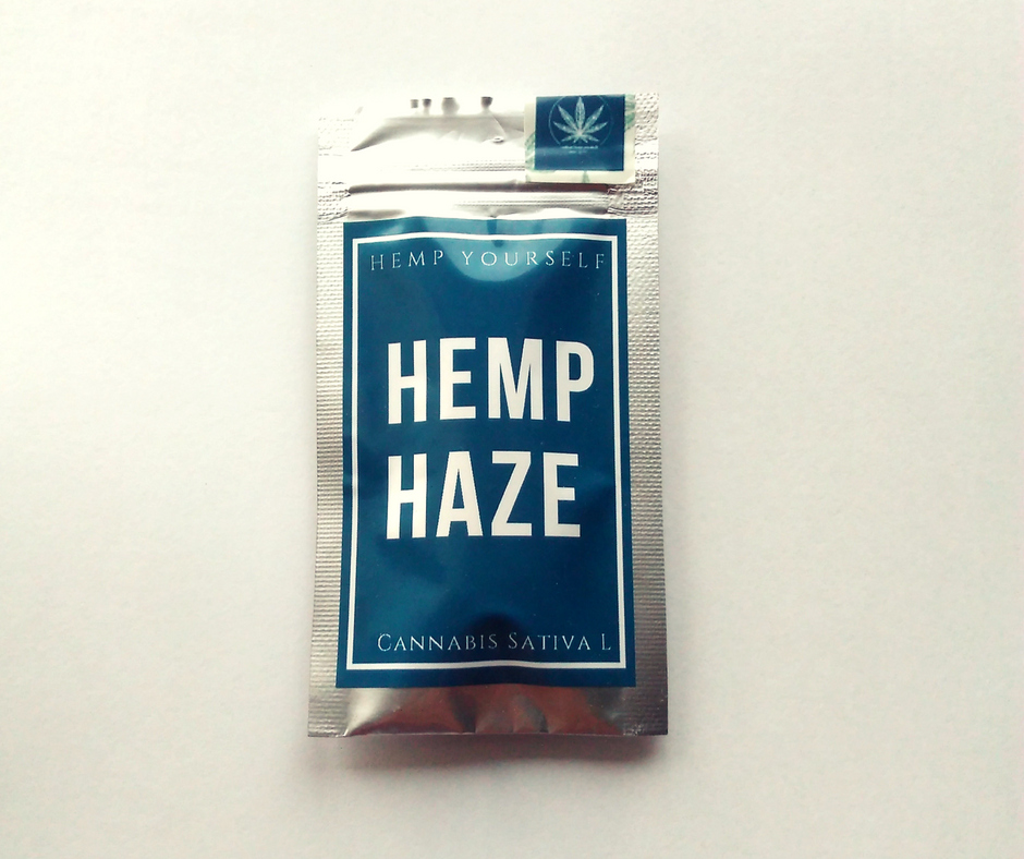 CBD Hemp Haze 1g květy Hemp Yourself