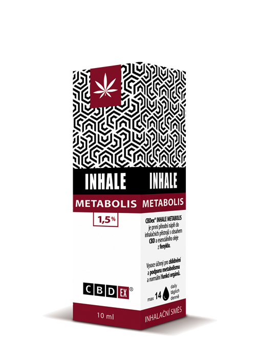 CBDex CBD Inhale Metabolis 1,5% 10ml