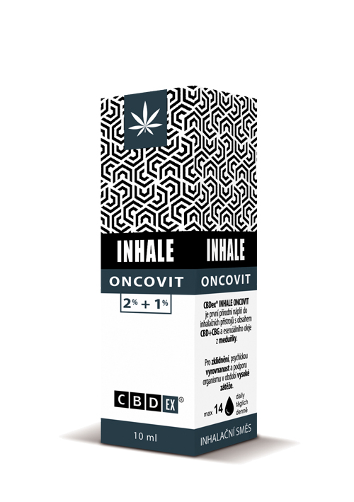 CBDex CBD Inhale Oncovit 2%+0,5% 10ml