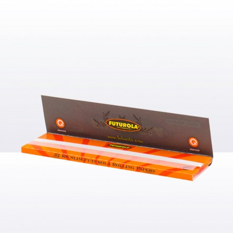 Cigaretové papírky orange king size slim Futurola