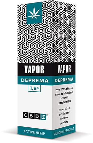 CBDex CBD Vapor Deprema 1,8% 20ml