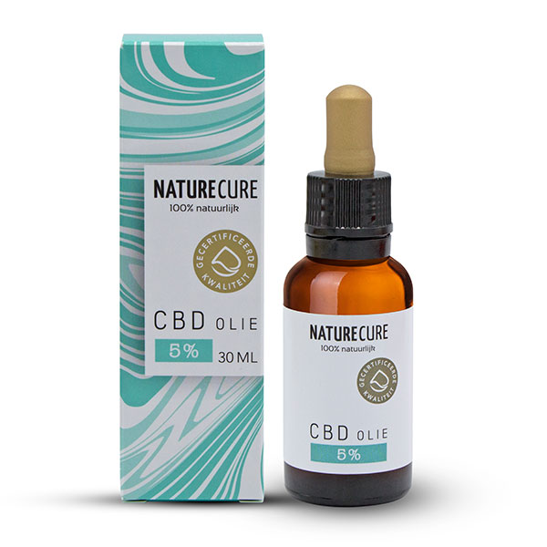 CBD olej 5% 30ml NATURE CURE